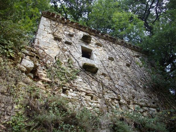 Photo Cuzorn - Ruines au pied du château