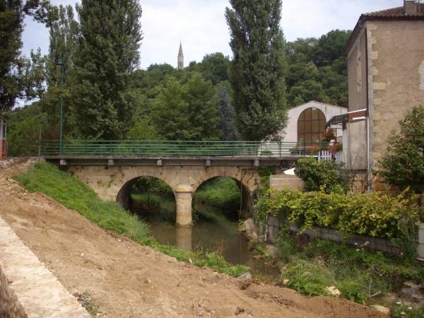 Photo Cuzorn - le pont sur la Lémance