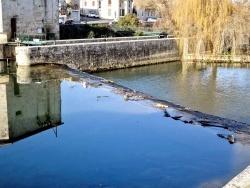 Photo paysage et monuments, Nérac - Le barrage et l'écluse - The barrage and the lock