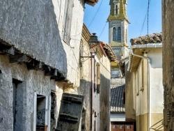 Photo paysage et monuments, Nérac - Nérac, l'église Notre-Dame depuis le Vieux Nérac.