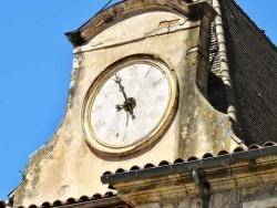 Photo paysage et monuments, Nérac - Nérac, centre Haussmann, l'horloge.