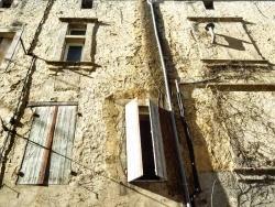 Photo paysage et monuments, Nérac - Nérac, façade colorée.