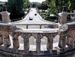 Photo paysage et monuments, Nérac - Nérac, l'avenue de Lattre.