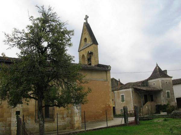 L'Eglise et la vieille maison