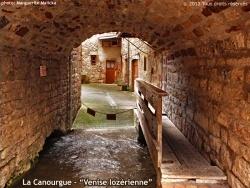 """Photo paysage et monuments, La Canourgue - La Canourgue - """"Venise lozérienne""""."""