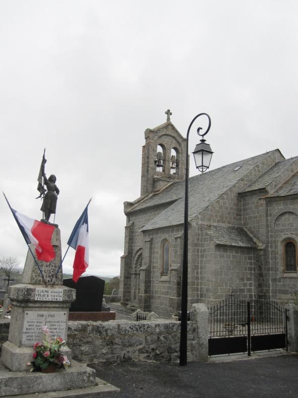 Photo Marchastel - L'église de Marchastel