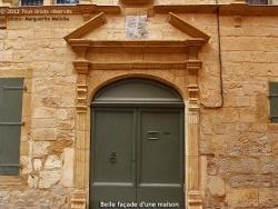 Photo paysage et monuments, Marvejols - Belle façade d'une maison du XVIème siècle de la rue Théodore-Jean.