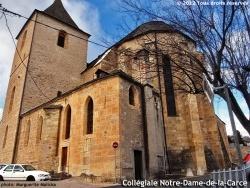 Photo paysage et monuments, Marvejols - Chevet de la collégiale Notre-Dame-de-la-Carce