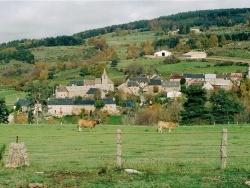 Photo paysage et monuments, Noalhac - Le hameau de Bécus