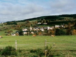 Photo paysage et monuments, Noalhac - Le hameau de Bécus ,