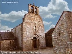Photo paysage et monuments, Prévenchères - Eglise Saint-Michel de La Garde Garde-Guérin, ancienne chapelle du château.