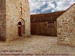 Photo paysage et monuments, Prévenchères - Eglise Saint-Michel de La Garde Garde-Guérin, bijou de l'architecture romane.