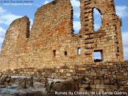 Photo paysage et monuments, Prévenchères - Ruines du Château de La Garde-Guérin.