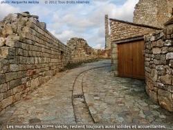 Photo paysage et monuments, Prévenchères - Murailles assurant la protection de la Garde-Guérin.