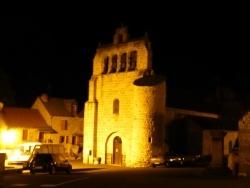 Photo paysage et monuments, Rimeize - Rimeize,son église avec son clocher à peignes