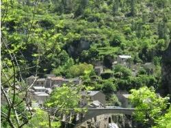 Photo paysage et monuments, Sainte-Enimie - Saint-Chély-du-Tarn (1)