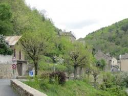 Photo paysage et monuments, Saint-Léger-de-Peyre - Saint-Léger-de-Peyre, rue principale (2)