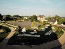 Photo paysage et monuments, La Chapelle-Hullin - Terrain de loisirs vu de l'Eglise