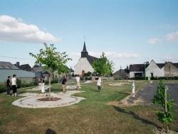 Photo paysage et monuments, La Chapelle-Hullin - Des joueurs profitant du mini-golf