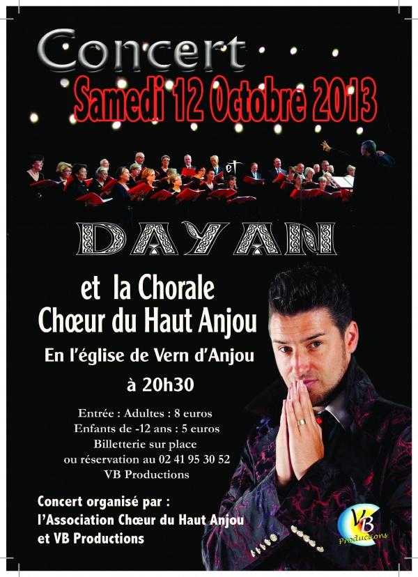 Photo Vern-d'Anjou - DAYAN CONTRE TENOR