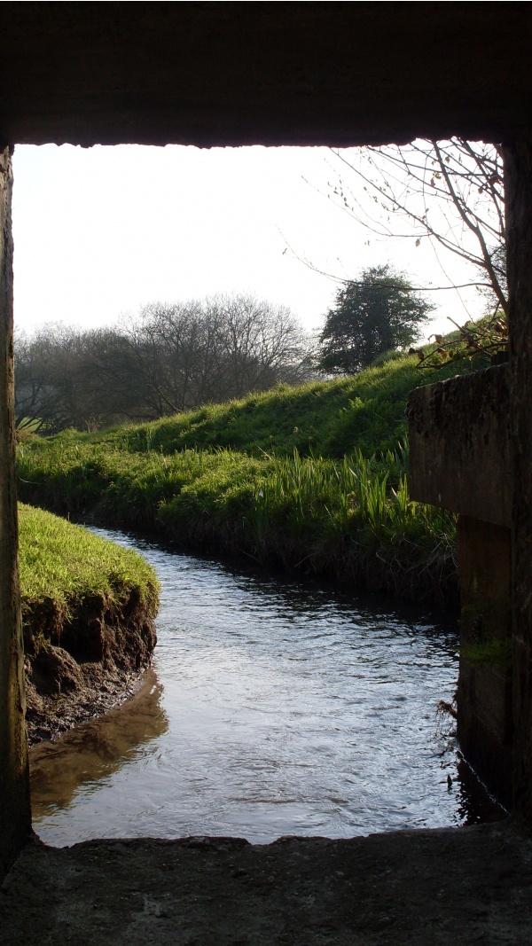 Photo Équeurdreville-Hainneville - sous le petit pont