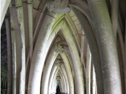 Photo paysage et monuments, Le Mont-Saint-Michel - les voutes