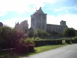 Photo paysage et monuments, Saint-Sauveur-le-Vicomte - Chateau de Saint-Sauveur-Le-Vicomte
