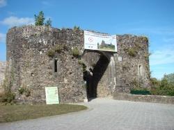 Photo paysage et monuments, Saint-Sauveur-le-Vicomte - L'entrée du chateau de Saint-Sauveur-Le-Vicomte