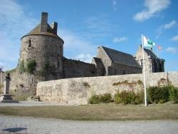 Photo paysage et monuments, Saint-Sauveur-le-Vicomte - Le chateau de Saint-Sauveur-Le-Vicomte