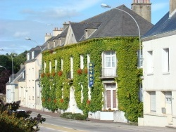 Photo paysage et monuments, Saint-Sauveur-le-Vicomte - Hôtel qui est à Saint-Sauveur-Le-Vicomte