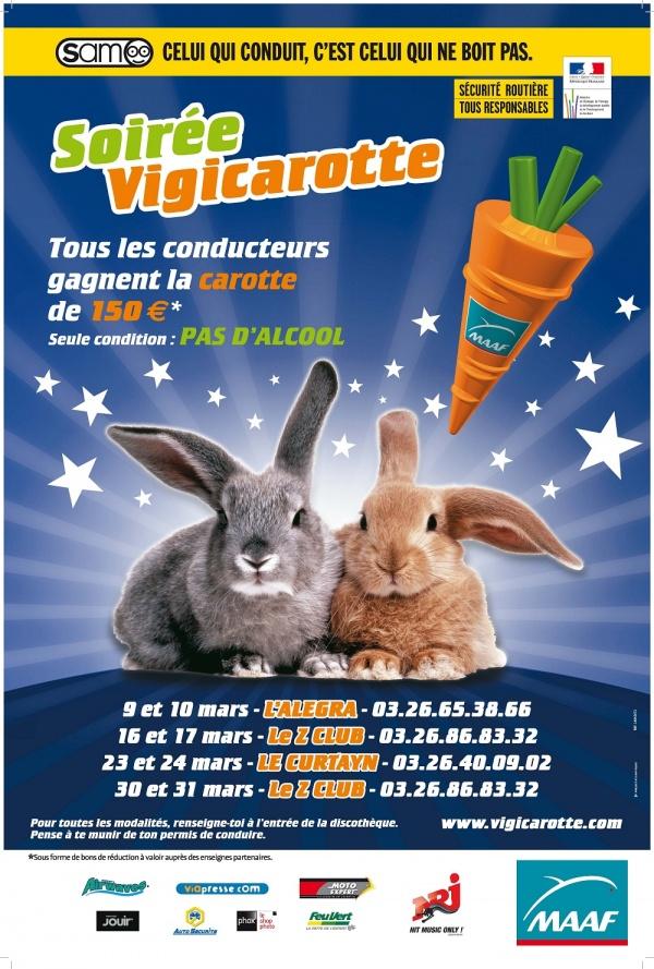 Le Plan Vigicarotte débarque dans la Marne au mois de Mars 2012