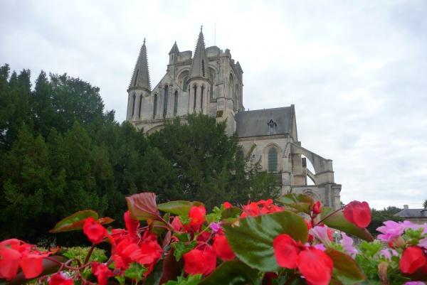 L'Eglise de Sainte Yved à Braine dans l'Aisne 02