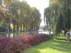 Photo paysage et monuments, Tours-sur-Marne - promenade le long du canal