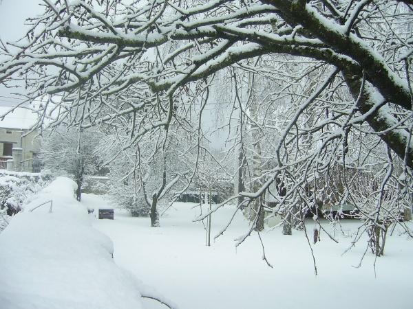 Richebourg sous la neige