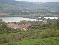 Photo paysage et monuments, Vittonville - VITTONVILLE vue du haut de la colline .