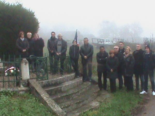 Commémoration du 11 Novembre 2013 à VITTONVILLE