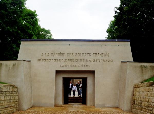 mémorial des tranchées