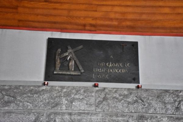 Photo Vannes - le chemin de croix église notre dame de lourdes