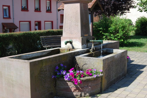 Fontaine du Village de Coume