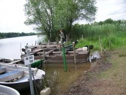 Photo paysage et monuments, Mittersheim - ²les barques des pêcheurs
