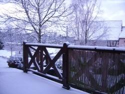 Photo paysage et monuments, Mittersheim - l'hiver sur la terrasse