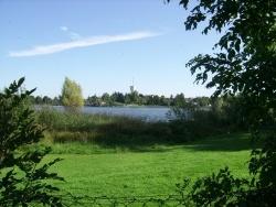 Photo paysage et monuments, Mittersheim - pleine nature, vue sur le château d'eau