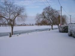 Photo paysage et monuments, Mittersheim - l'étang sous la neige