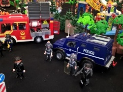 Photo paysage et monuments, Semécourt - Exposition Playmobil