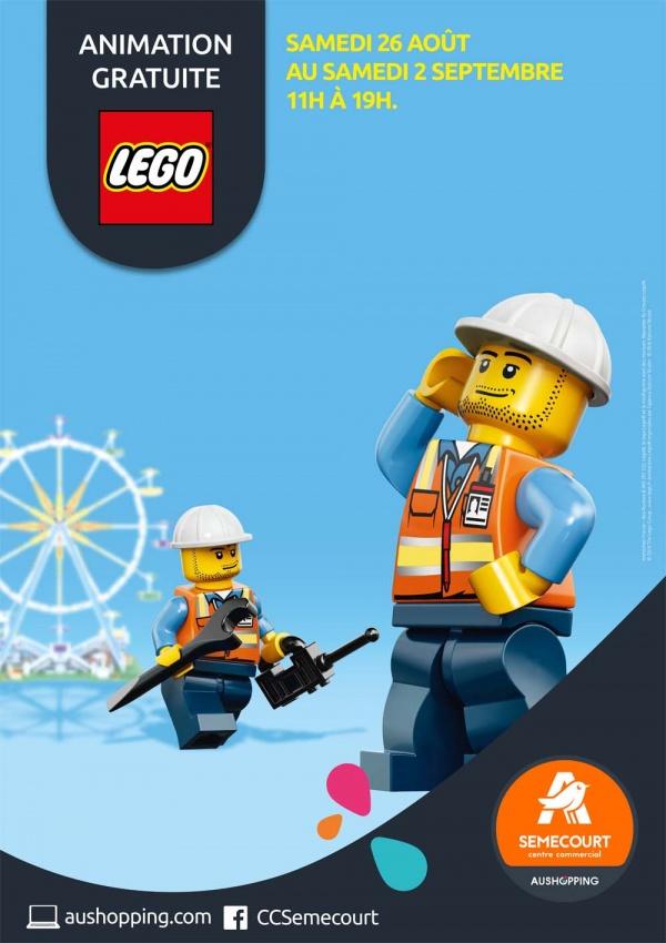 Les Briques LEGO s'invitent à SEMECOURT