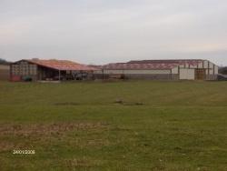 Photo paysage et monuments, Thimonville - hangar agricole