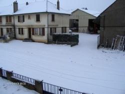 Photo paysage et monuments, Thimonville - LE 16/02/2009 la neige était au rendez vous