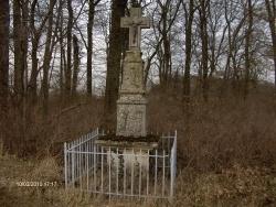 Photo paysage et monuments, Thimonville - calvaire route de morville sur nied