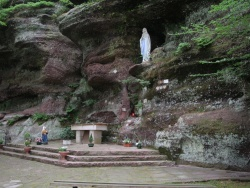 Photo paysage et monuments, Walscheid - la grotte de lourdes