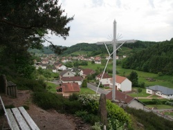 Photo paysage et monuments, Walscheid - le bas du village